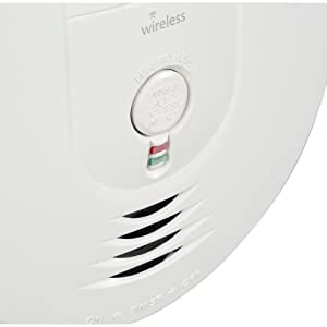 Kidde 21026044 Wireless Interconnect Battery Operated Smoke Detector Alarm  , Model RF-SM-DC (Color: Model RF-SM-DC, Tamaño: 1 Pack)
