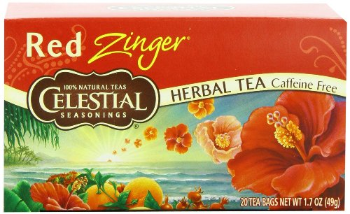 Celest Seas Hrb Tea Red Zinger 20
