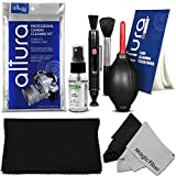 Professional Cleaning Set for DSLR Cameras and Sensitive Electronics (Canon - Nikon - Pentax - Sony) - Includes: Purosol All Natural Lens Cleaner 1 oz. Bottle + Lens Cleaning Pen + Lens Brush + Air Blower Cleaner + 50 Sheets Lens Tissue Paper + 3 Pack Oversize and Original Premium MagicFiber Microfibers Cleaning Cloths