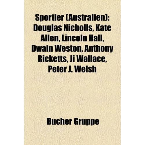 Sportler Australien Douglas Nicholls Kate Allen
