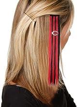 MLB Cincinnati Reds Ladies Black-Red Sports Extension Hair Clips by Football Fanatics