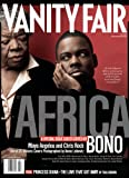 Vanity Fair July 2007 Africa Issue, Chris Rock/ Maya Angelou Cover