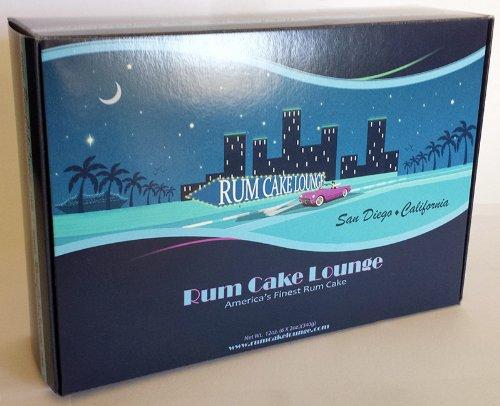 Coconut Vanilla Bean Gourmet Mini Rum Cakes, (6 X 2oz.)