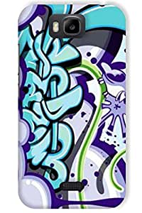 IndiaRangDe Case For Huawei Honor Bee Printed Back Cover