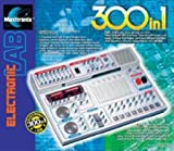 Elenco 300-In-1 Electronic Project Lab Kit With White Earbud Headphones