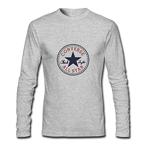 New Converse Logo For 2016 Mens Printed Long Sleeve tops t shirts