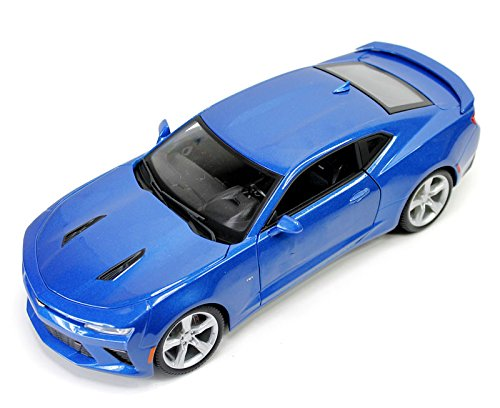 2016 Chevrolet Camaro SS Blue 1/18 by Maisto 31689 (Chevy Camaro Model Car compare prices)
