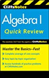 img - for CliffsNotes Algebra I Quick Review, 2nd Edition (Cliffs Quick Review) book / textbook / text book