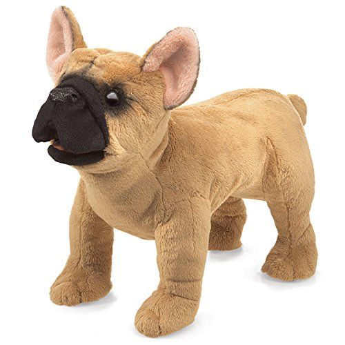 Folkmanis-French-Bulldog-Hand-Puppet-Plush