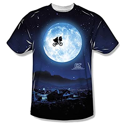E.T. Extra Terrestrial Moon All Over Front T-Shirt