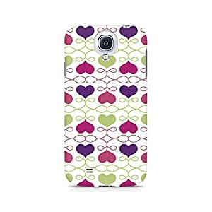 Ebby Heart Pattern Premium Printed Case For Samsung S4