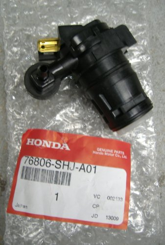 Genuine Honda 76806-Shj-A01 Windshield Washer Pump front-631564