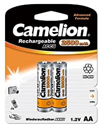 Camelion NH-AA2500BP2 Rechargeable Battery