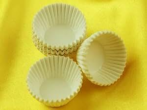 Papierkapseln 25 mm weiß - 100 Stück