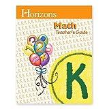 img - for Horizons Math Teacher's Guide Grade K book / textbook / text book