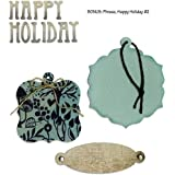 Sizzix Bigz with Bonus Sizzlits Die - Bookplate, Tags & Happy Holiday by BasicGrey