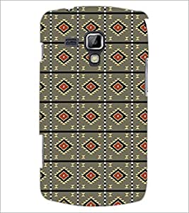 Printdhaba Pattern D-5217 Back Case Cover For Samsung Galaxy S Duos S7562