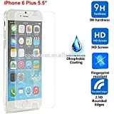 ClearScreenz Iphone 6 Plus And 6s Plus Screen Protector .03mm Tempered Glass Protector Works With Only Iphone...