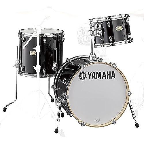 Bop-Kit SBP8F3RB 스테이지 커스텀 바 지  드럼 쉘 키트 18BD 3점 세트 RB레벤 블랙-