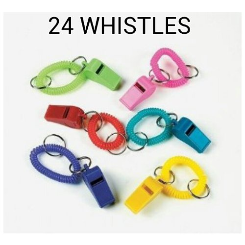 Whistle Expando Bracelet Key Chains (2-Pack)