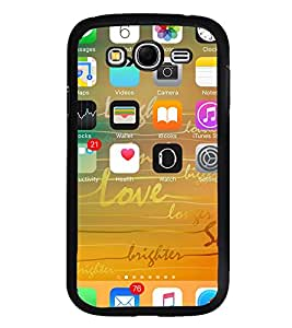 ifasho Designer Phone Back Case Cover Samsung Galaxy Grand I9082 :: Samsung Galaxy Grand Z I9082Z :: Samsung Galaxy Grand Duos I9080 I9082 ( Ullu Owl Prisma Type )