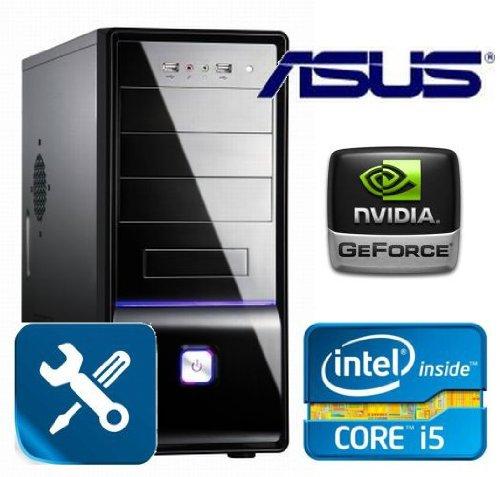 Tronics24 AufrüstPC Intel Core i5-2320 Sandy Bridge (Quadcore) 4x 3 GHz, 4 GB DDR3, Asus, USB 3.0, Nvidia Geforce GT610, Sound, GigabitLan