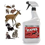 Expel Natural Animal Repellent & Mice Repellent - Ready to Use, Weatherproof - 32oz Easy Spray Bottle