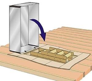 Attic Tent Loft Hatch Insulation Cover Amazon Co Uk Diy