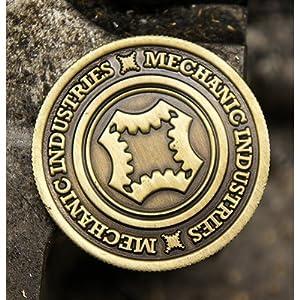 Half Dollar Coin (Bronze) by Mechanic Industries - Trick
