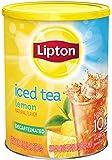 Lipton Iced Tea Mix, Decaffeinated Lemon Sweetened (1 lbs 9.1 ounces) (Pack of 3)