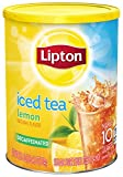 Lipton Iced Tea Mix, Decaffeinated Lemon Sweetened 10 qt (pack of  3)