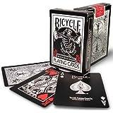 Mazzo BICYCLE Black Tiger Roja (US Playing Card Company)