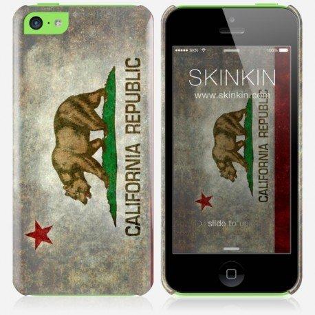 iPhone 5C Case, Cover, Guscio Protettivo - Original Design : California state flag da Bruce Stanfield