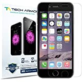 iPhone 6S Plus Screen Protector, Tech Armor Apple iPhone 6 Plus (5.5 inch ONLY) High Defintion (HD) Clear Screen Protectors - Maximum Clarity [3-Pack] Lifetime Warranty