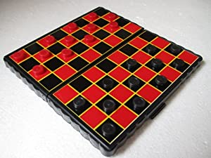 MINI MAGNETIC TRAVEL GAME DRAUGHTS