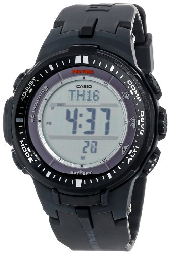 Casio Men's PRW-3000-1CR Protrek Triple Sensor Multi-Function Watch