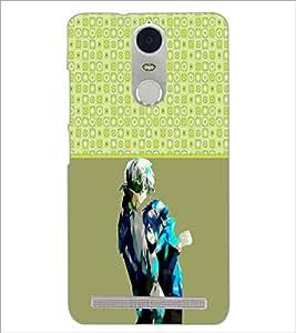 PrintDhaba Couple D-5748 Back Case Cover for LENOVO K5 NOTE (Multi-Coloured)