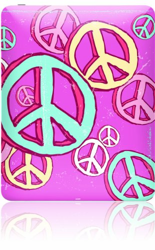 Skinit Protective Skin (Fits Latest Apple iPad); Peace Baby!