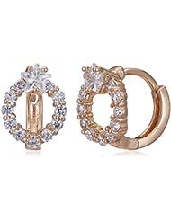 Sia Art Jewellery Clip On Earrings For Women (Golden) (AZ3462)