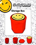 2er Set Hocker Smiley mit Deckel