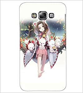 PRINTSWAG GIRL WITH KITTIES Designer Back Cover Case for SAMSUNG GALAXY GRAND 3
