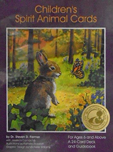 CHILDRENS-SPIRIT-ANIMAL-CARDS-24-cards-guidebook