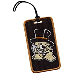 Buy NCAA Wake Forest Demon Deacons Luggage Tag by The Alumni Association