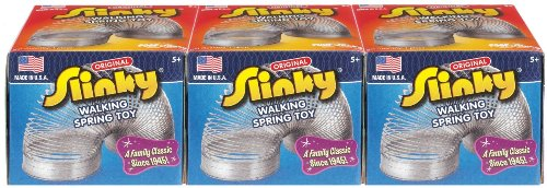 The Original Slinky Brand Metal Slinky 3 Pack (Toy Story Easter Basket compare prices)