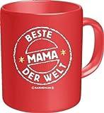 Rahmenlos® Kaffeebecher - Beste Mama der Welt - Fun Tasse