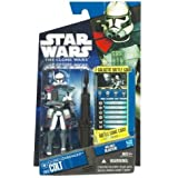 Star Wars 2011 Clone Wars Animated Action Figure CW No. 52 Clone Commander Colt Red Leader ARC Trooper