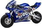 Razor Pocket Rocket 24V Mini Bike Electric Motorcycle - Blue | 15120040