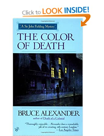 The Color of Death (Sir John Fielding 7) - Bruce Alexander
