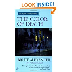 The Color of Death (Sir John Fielding Mysteries)