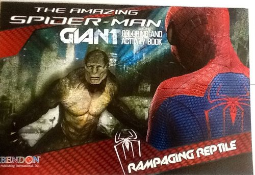 "The Amazing Spider-Man - Rampaging Reptile! Oversized Giant Coloring & Activity Book! Games! Mazes! Puzzles! 16"" X 11"" 24 Pages!"